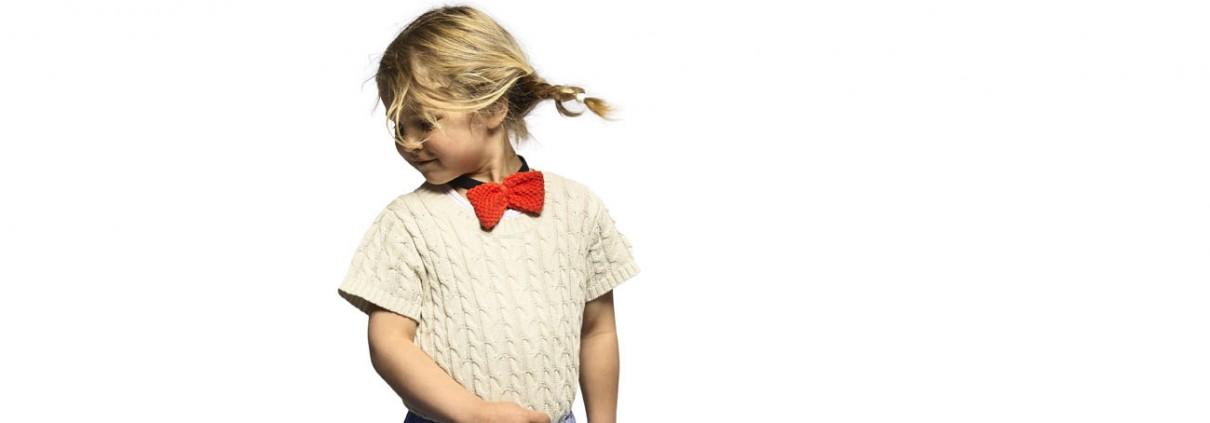 BOCK Cph Lookbook - dancing girl in skirt:cable:bow