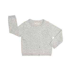 asymmetrical baby cardigan