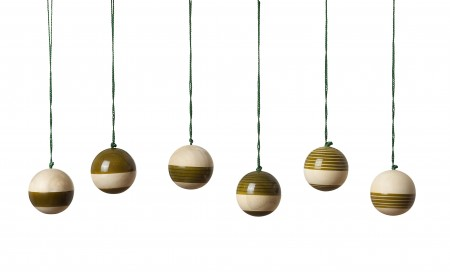 baubles - green