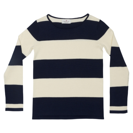 unisex trøje med striber