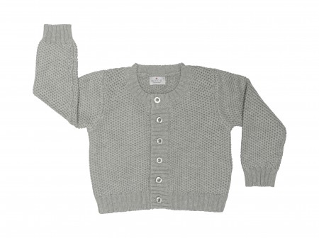 baby cardigan - organic cotton