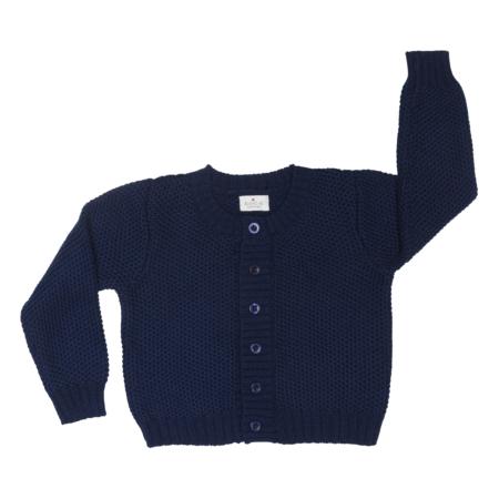 baby cardigan - organic cotton