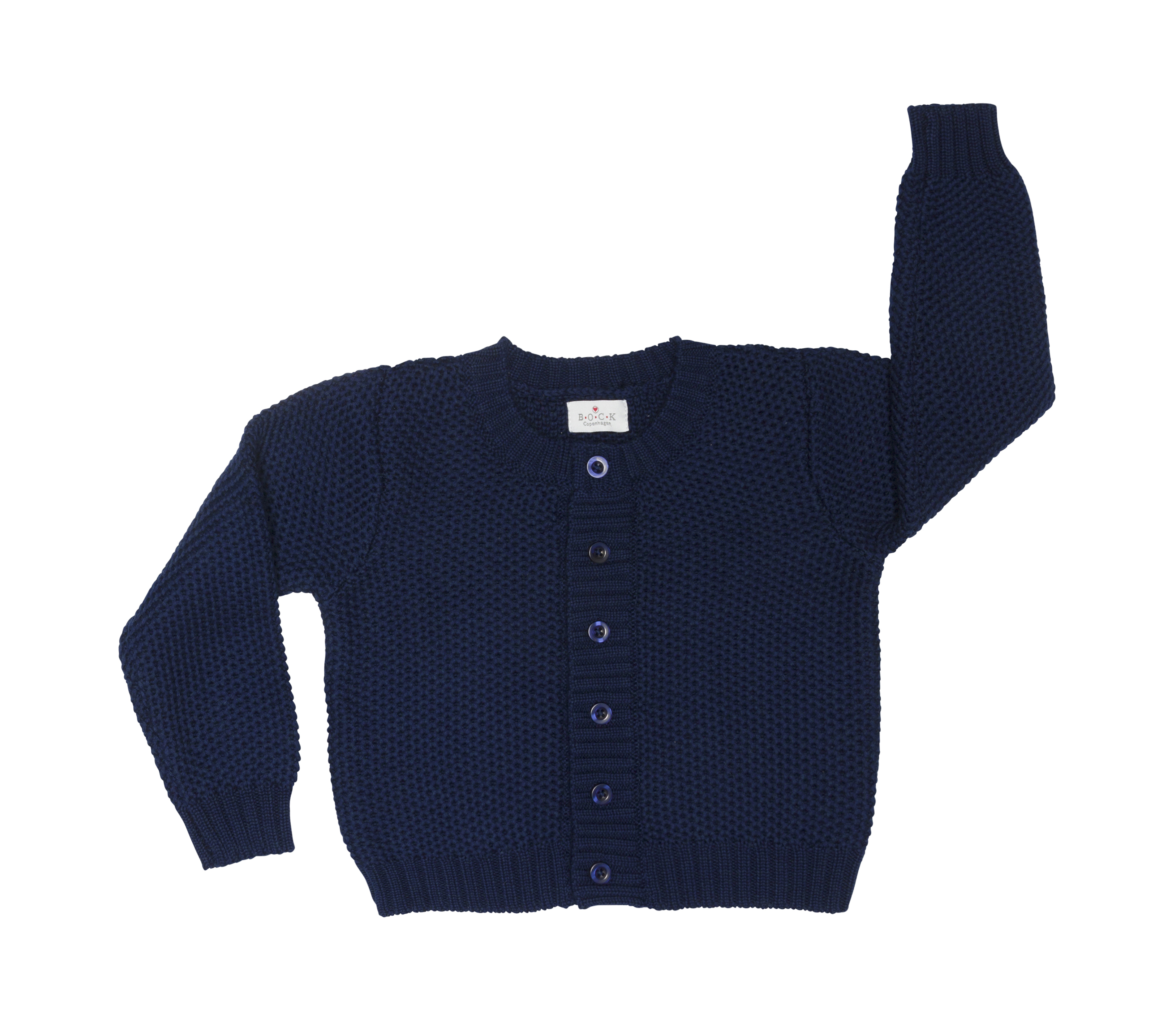267a8bca48d5 Sample - baby cardigan - organic cotton - BOCKCph