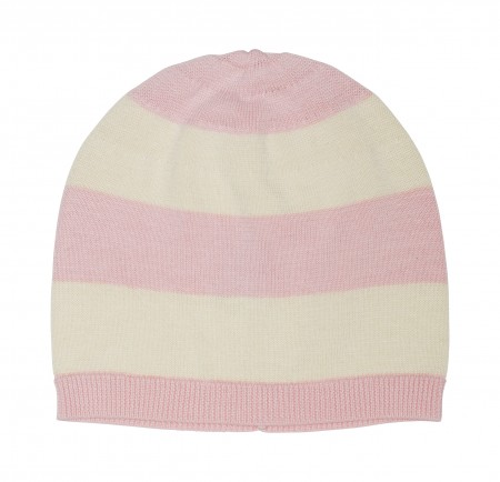 striped classic hat in organic cotton