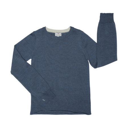 long sleeve wool t-shirt