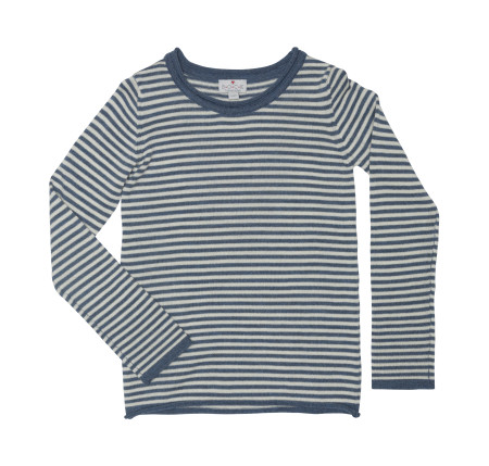 wool jumper with stripes