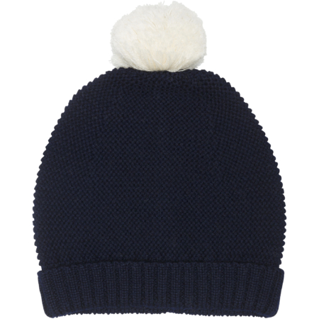 wool hat with pom pom