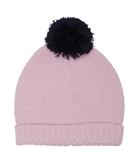 wool hat with pom pom
